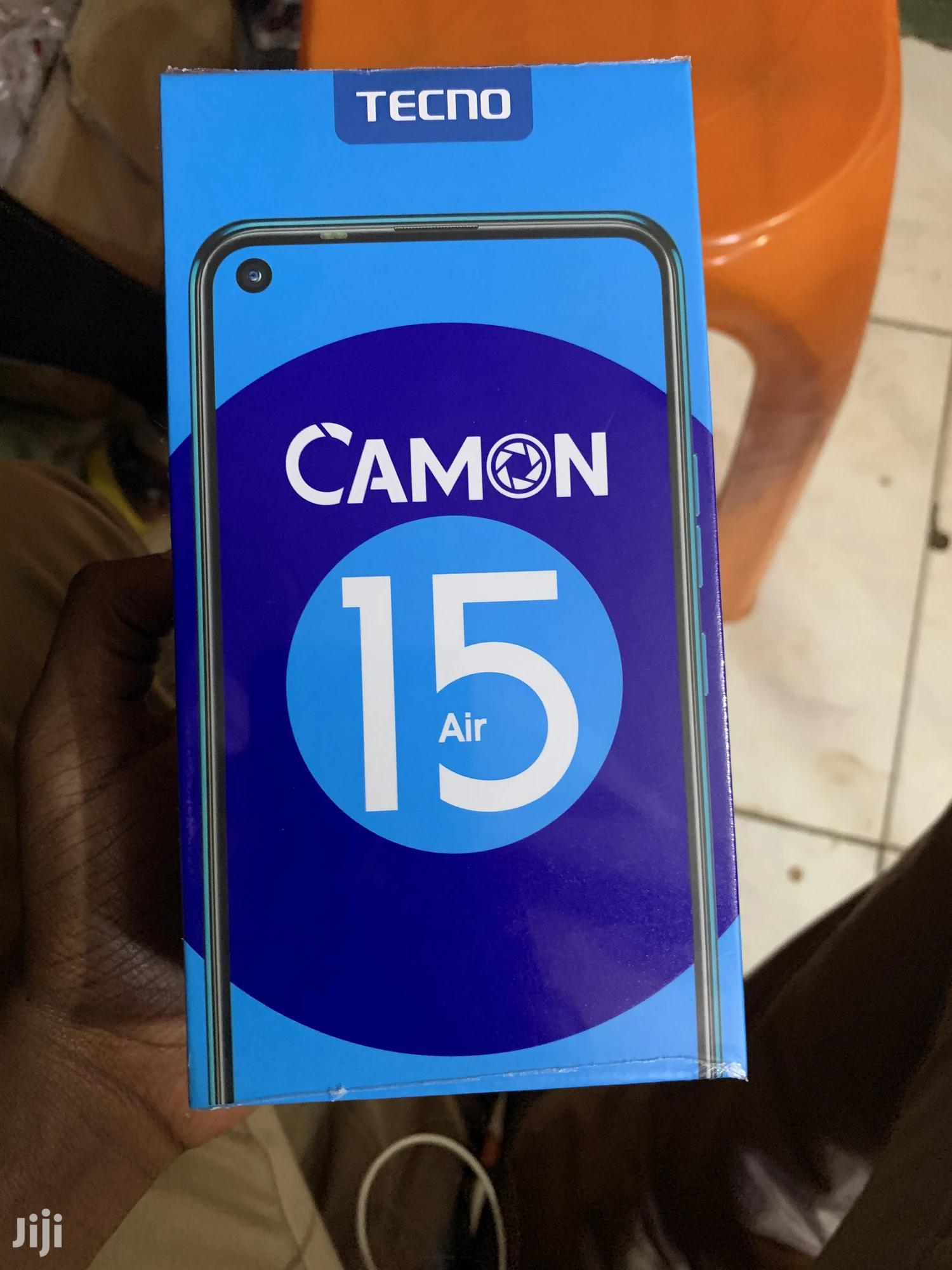 New Tecno Camon 15 Air 64 GB Blue