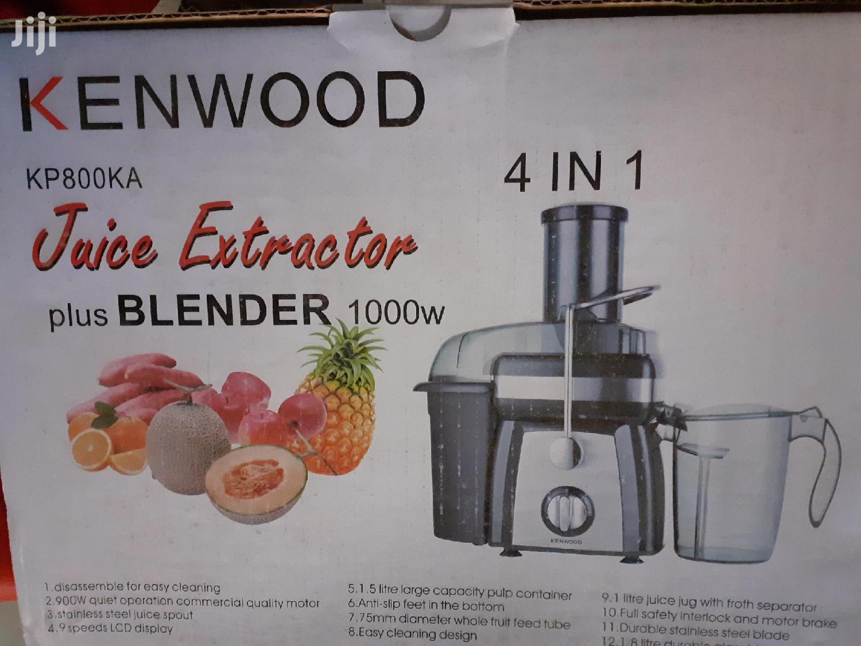 Archive: Juice Extractor Machine Kenwood 4 In 1
