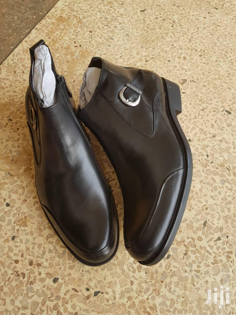 Pure Leather Gentle Boot | Shoes for sale in Kampala, Central Region, Uganda