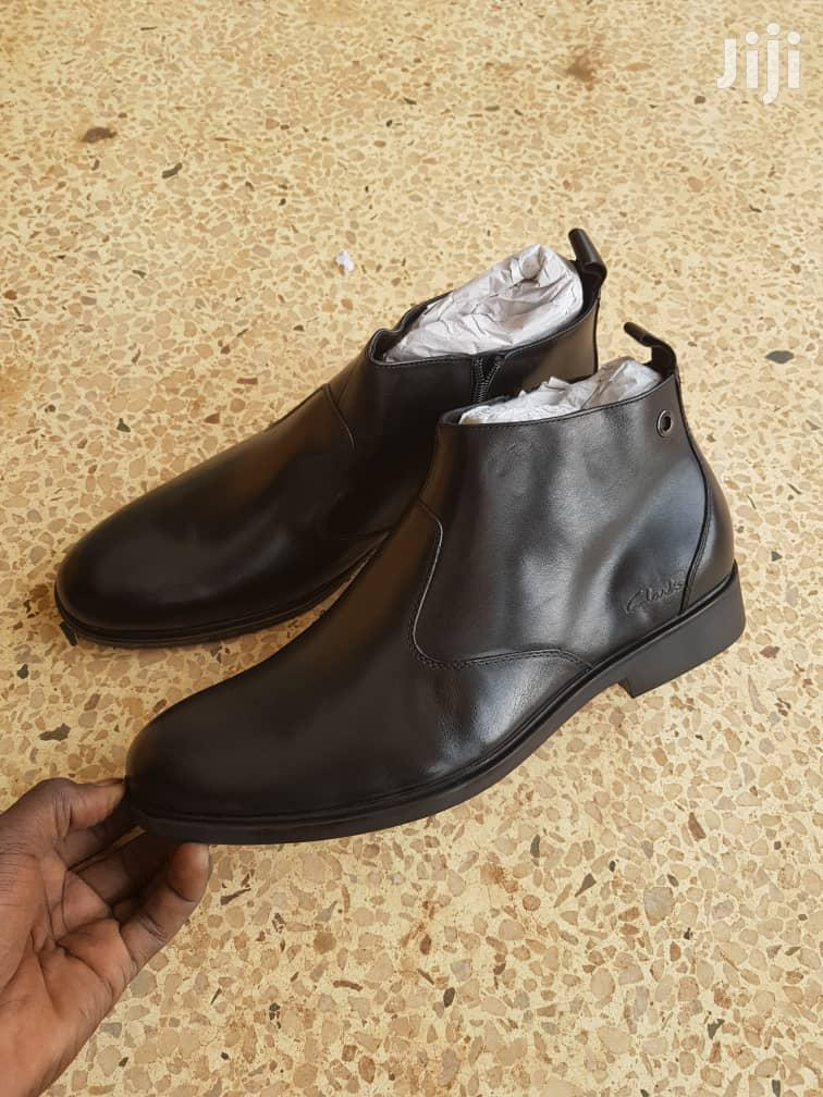 Pure Leather Gentle Boot Shoes | Shoes for sale in Kampala, Central Region, Uganda