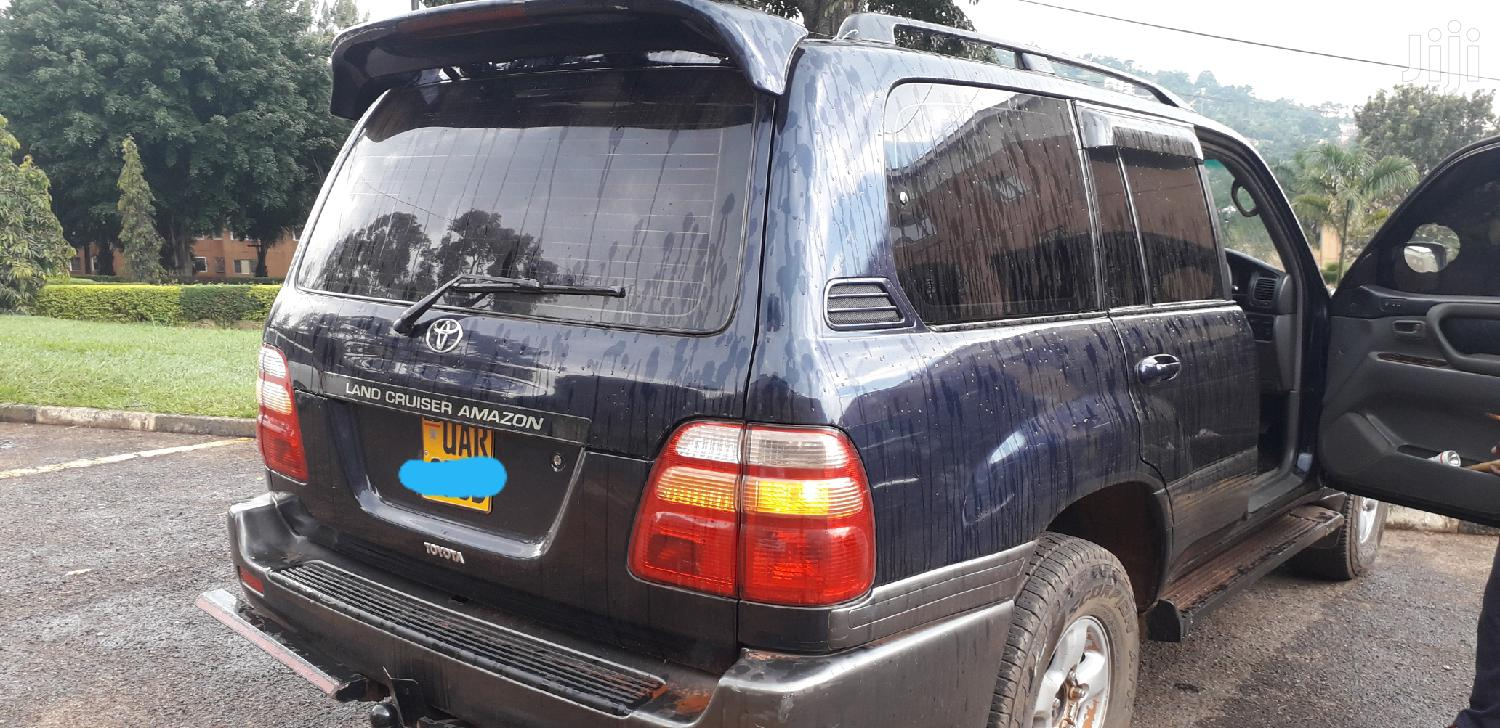 Archive: Toyota Land Cruiser 1996 Gray