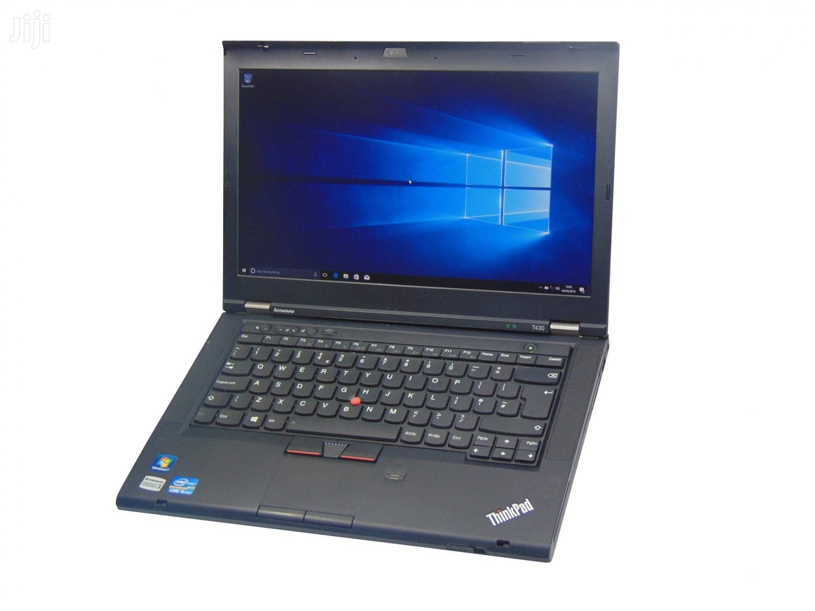 Laptop Lenovo ThinkPad T430 4GB Intel Core I5 HDD 500GB | Laptops & Computers for sale in Kampala, Central Region, Uganda