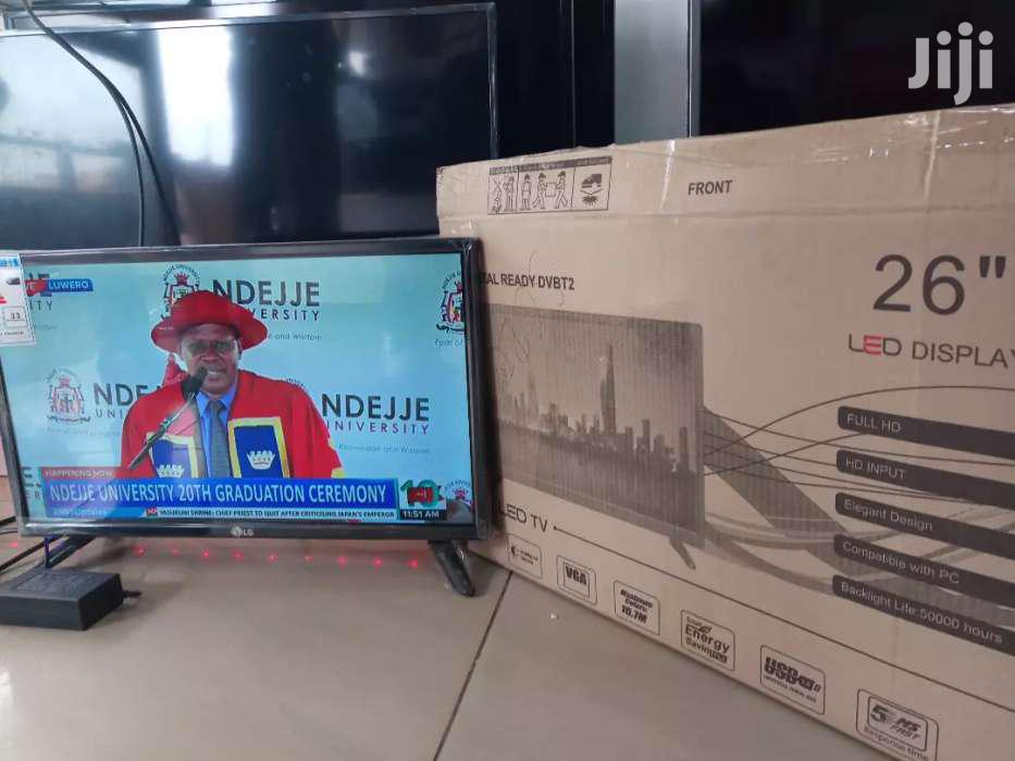 LG Digital Flat Screen TV 26 Inches | TV & DVD Equipment for sale in Kampala, Central Region, Uganda