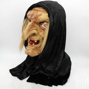Scary White Witch Cosplay Latex Mask