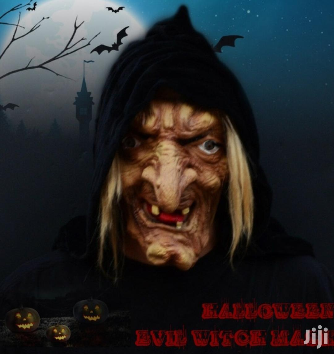 Scary White Witch Cosplay Latex Mask | Clothing Accessories for sale in Kampala, Central Region, Uganda