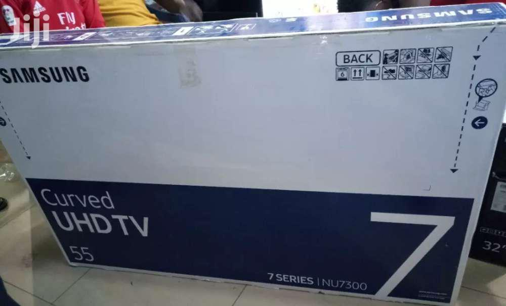 Samsung Curved Smart UHD 4k TV 55 Inches | TV & DVD Equipment for sale in Kampala, Central Region, Uganda