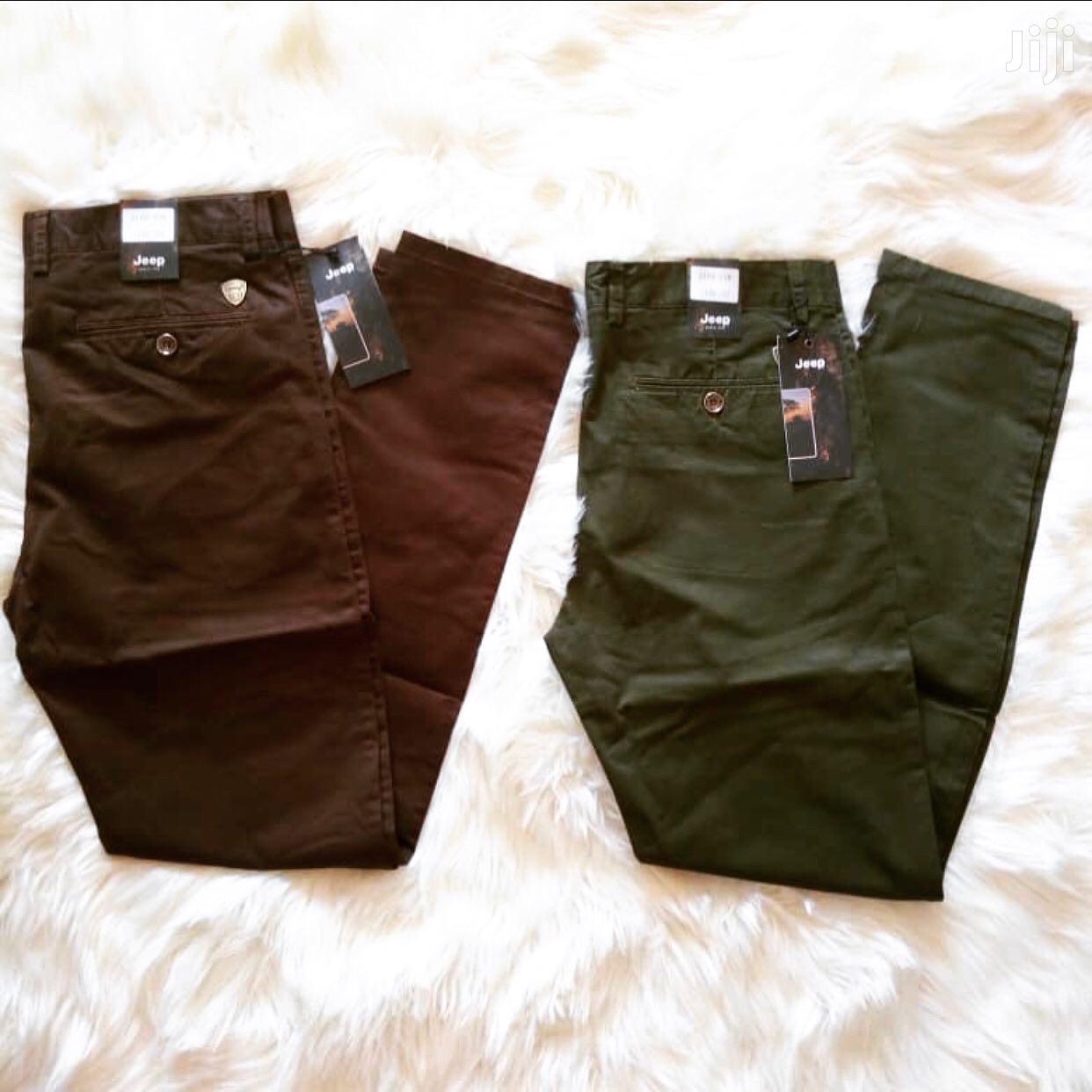 Archive: Khaki Trousers