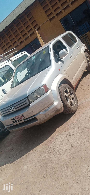 Honda Crossroad 2007 Silver