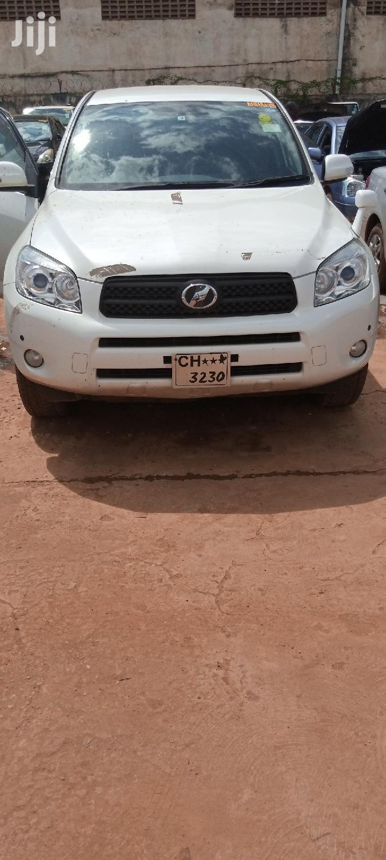 New Toyota RAV4 1.8 2007 White   Cars for sale in Kampala, Central Region, Uganda
