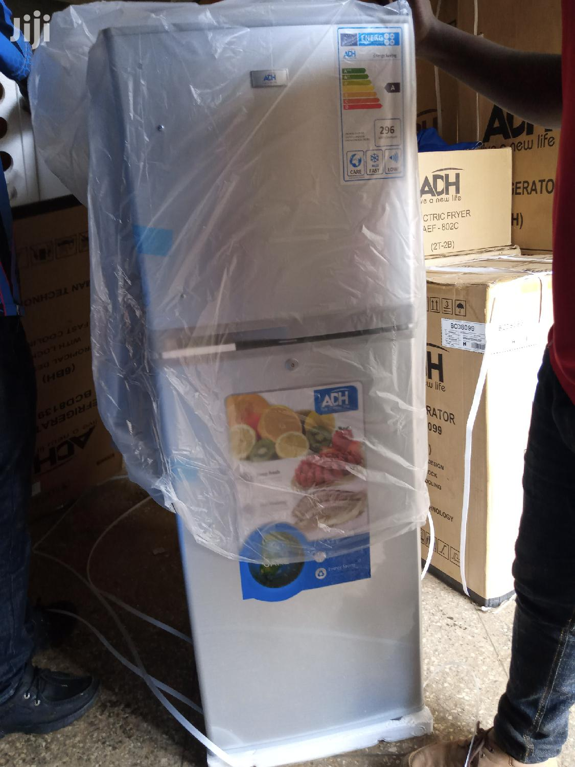 ADH Double Door Fridge 168L