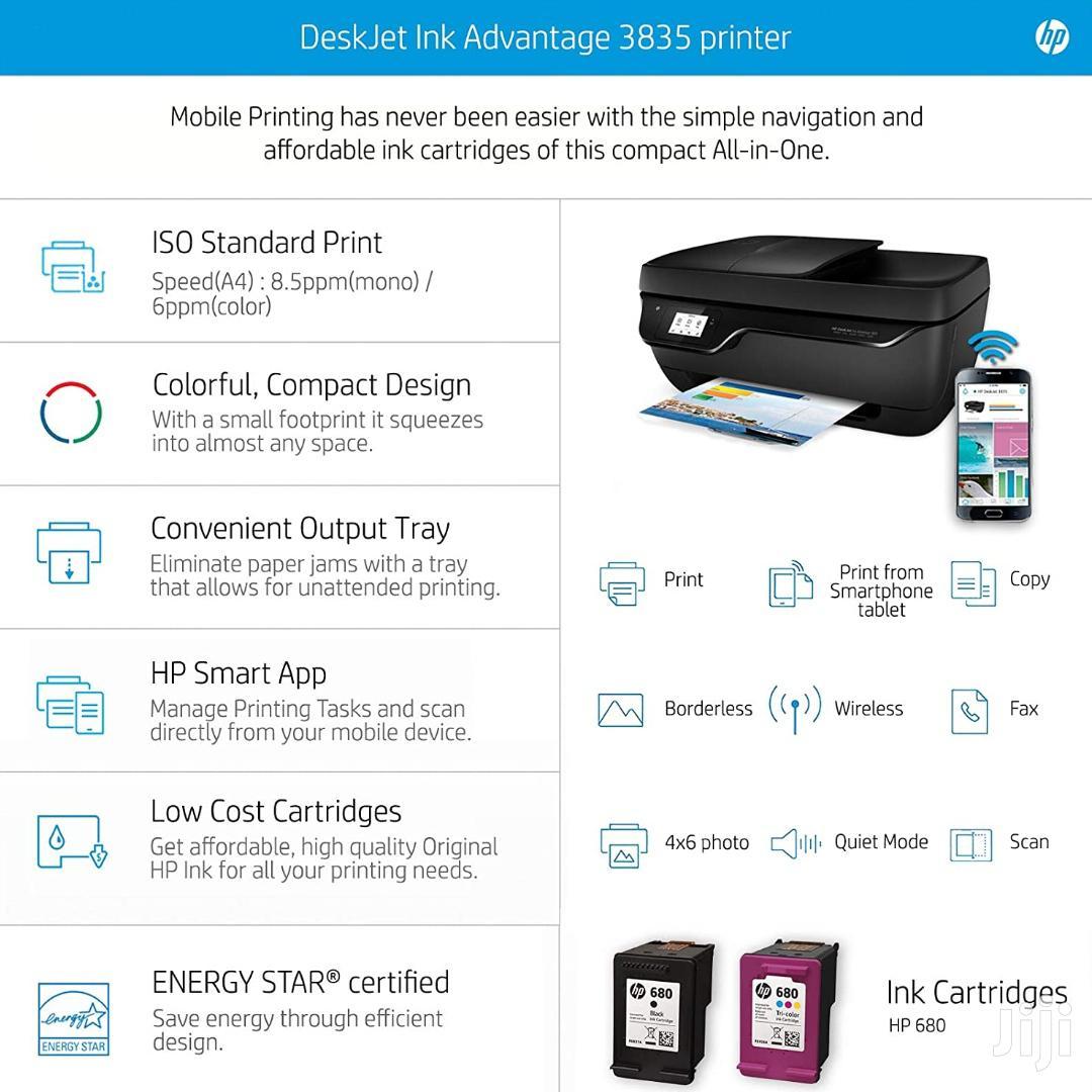 HP Deskjet 3835 All In One Ink Advantage Wireless Printer | Printers & Scanners for sale in Kampala, Central Region, Uganda
