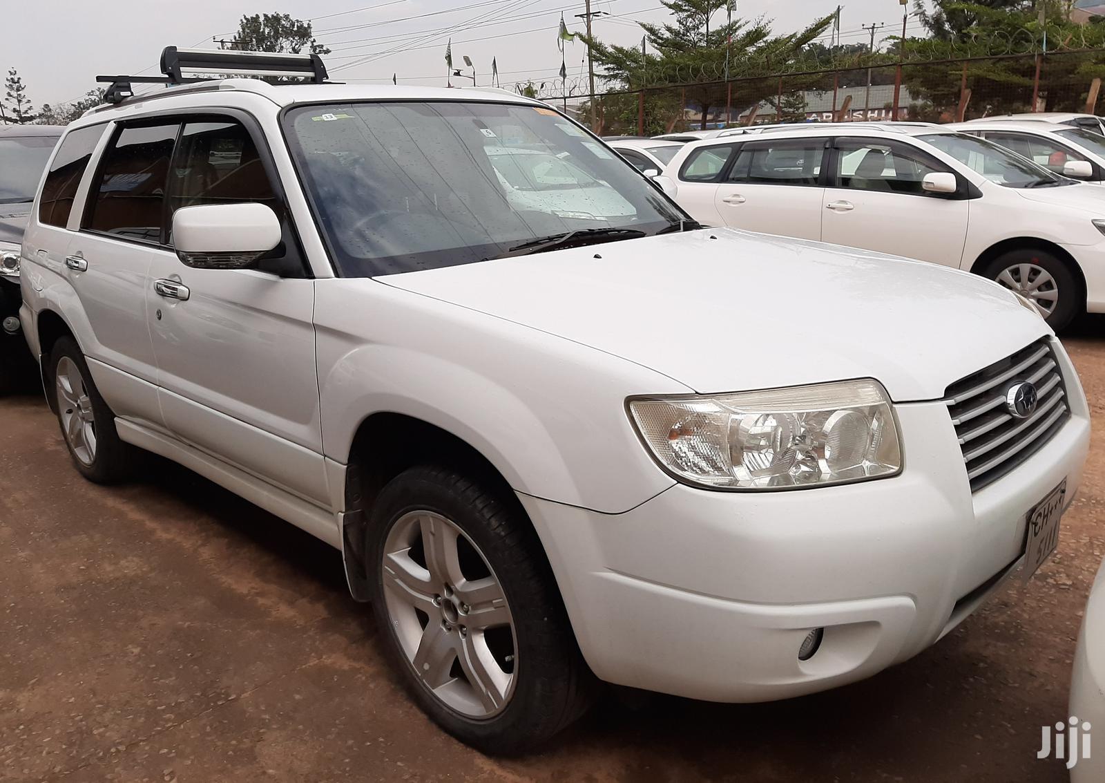 Subaru Forester 2007 White