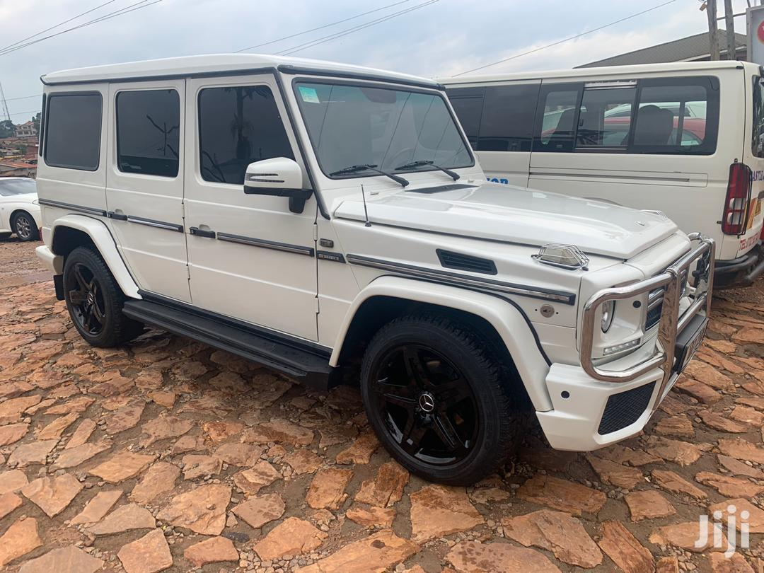 Mercedes-Benz G-Class 2001 White | Cars for sale in Kampala, Central Region, Uganda