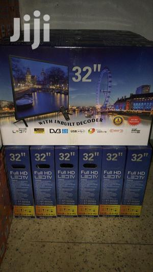 32inch AC-DC Full Hd Tv With Inbuilt Decoder
