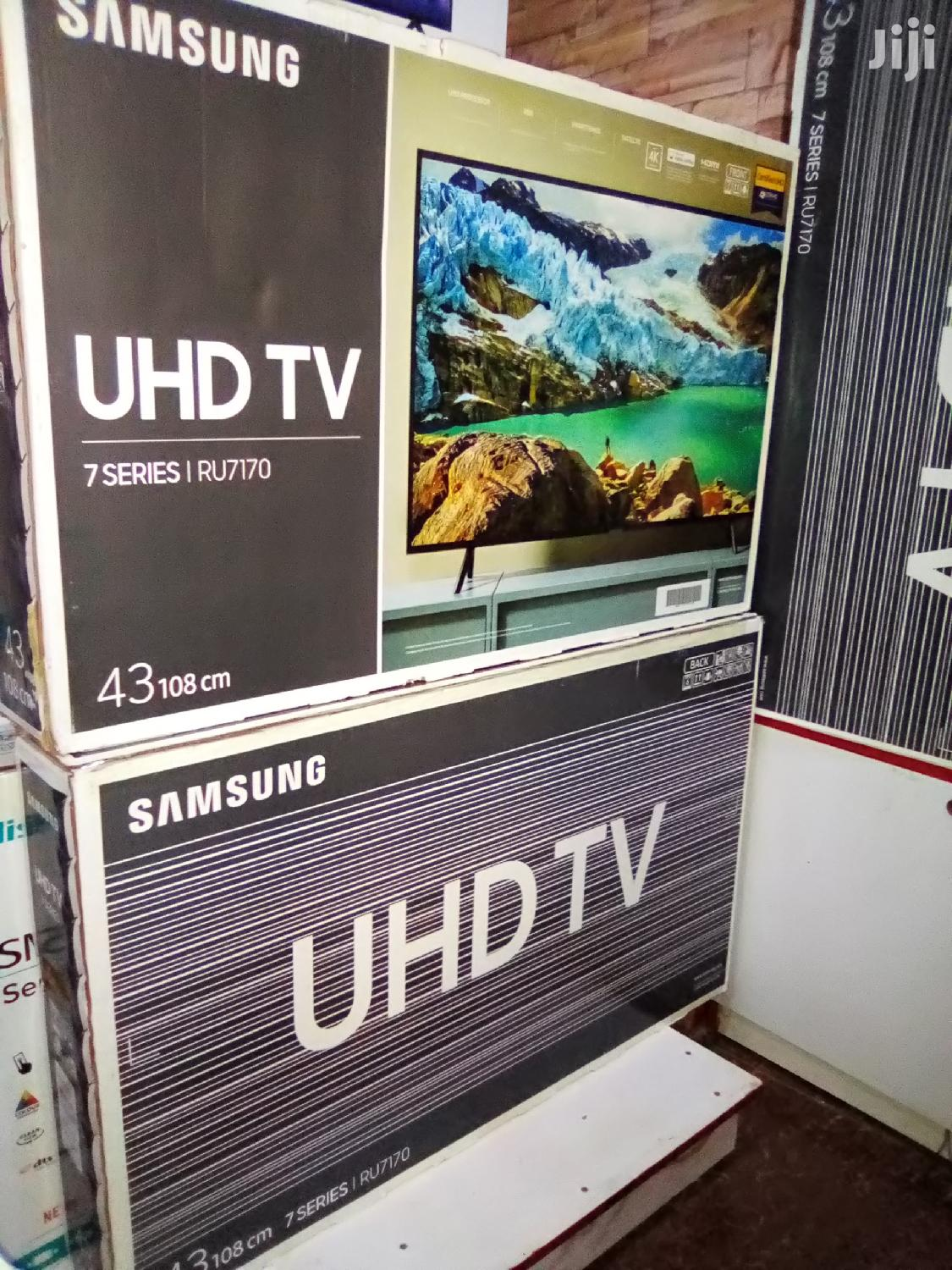 "Samsung 43"" Ultra Slim Smart 4K UHD Flat LED Tvs. Brand New 