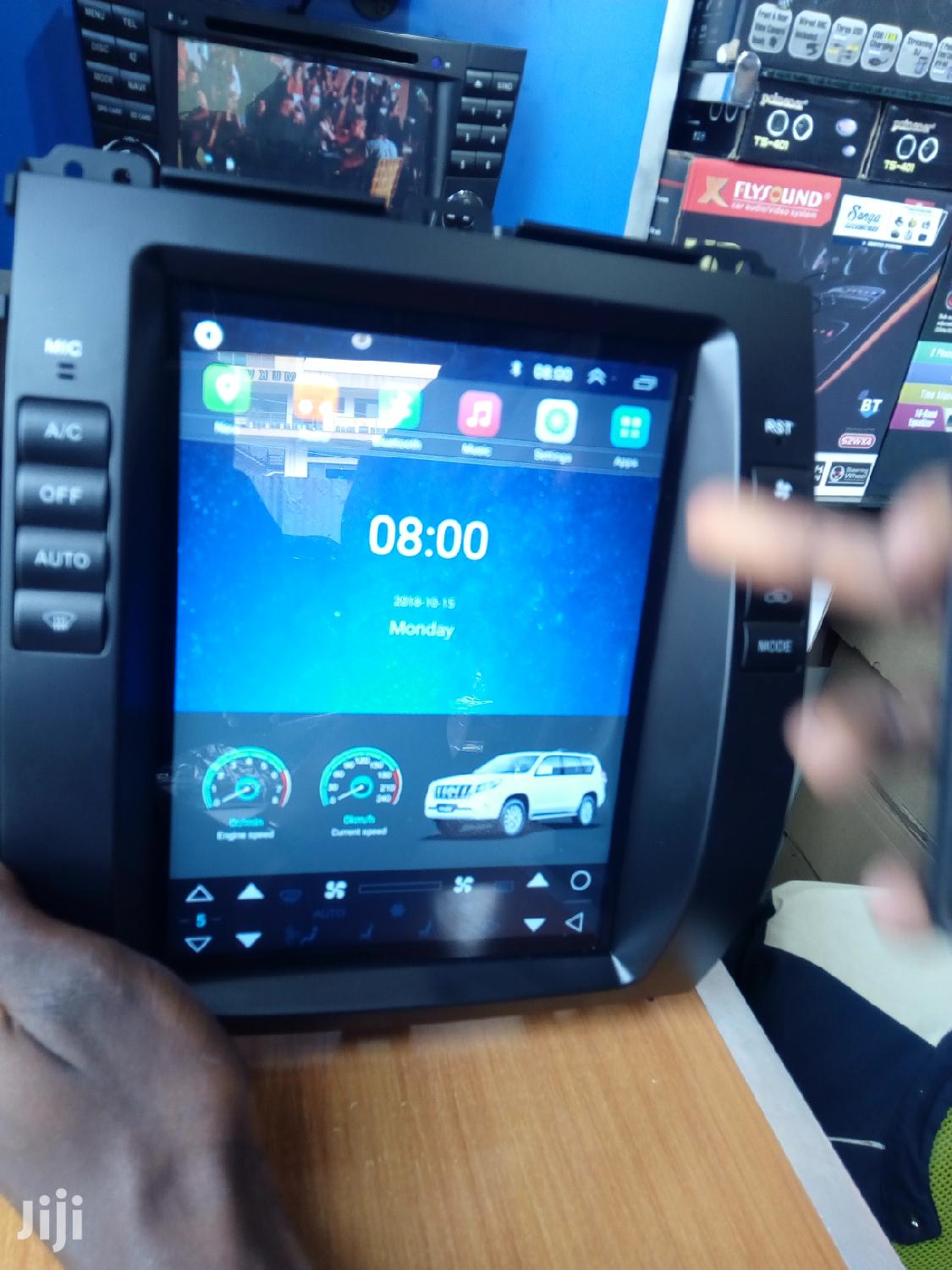 Android Car Radio For Land Cruiser Prado   Vehicle Parts & Accessories for sale in Kampala, Central Region, Uganda