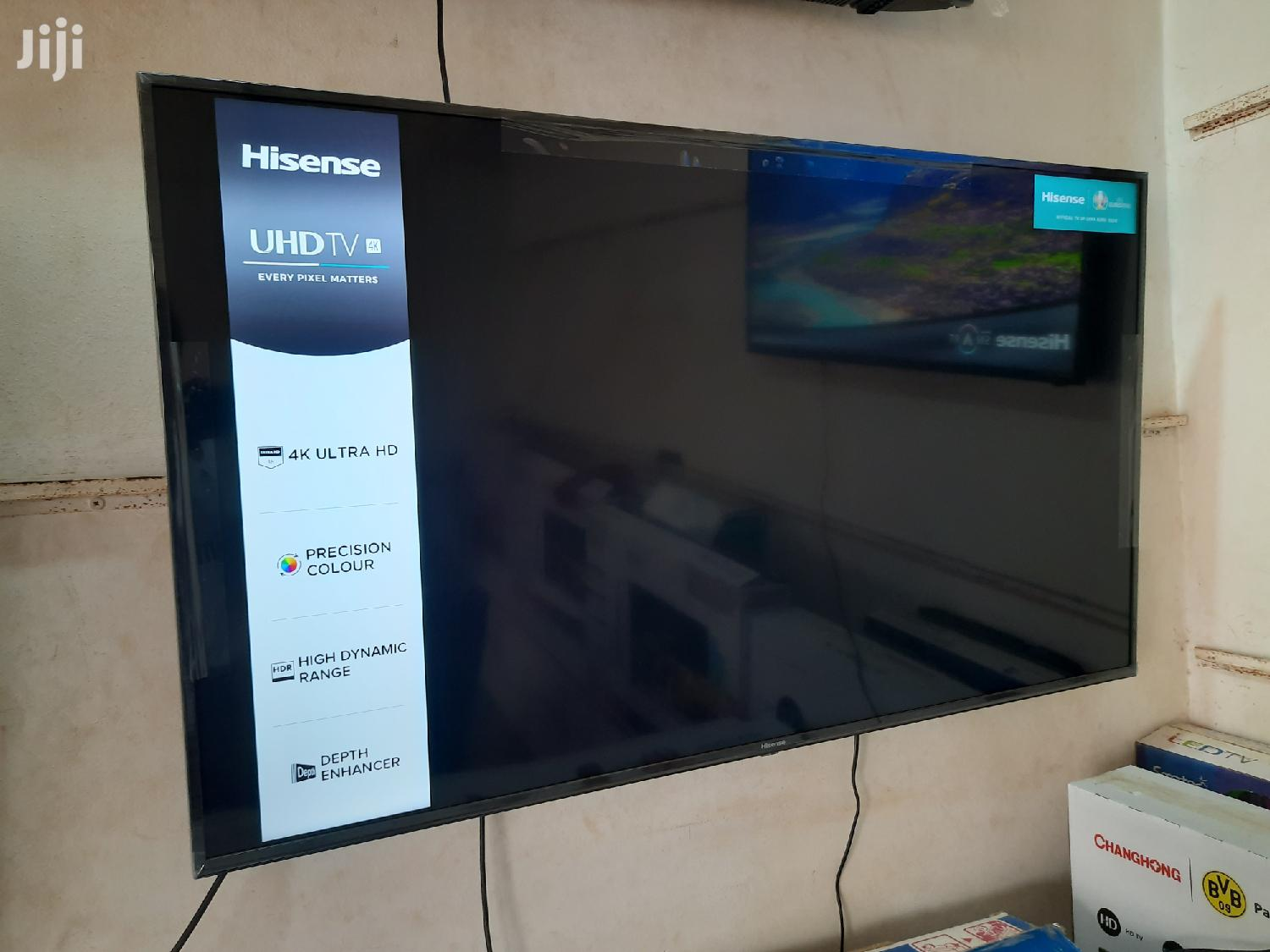 Brand New Hisense 55-Inch UHD 4K Smart TV
