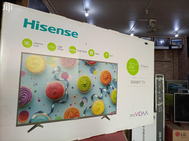 Hisense Smart Digital Satellite Flat Screen TV 32 Inches | TV & DVD Equipment for sale in Kampala, Central Region, Uganda