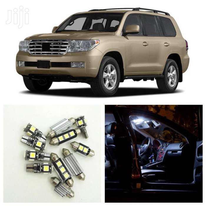 White Car Led Interior Light Bulbs Package Kit For Landcruiser