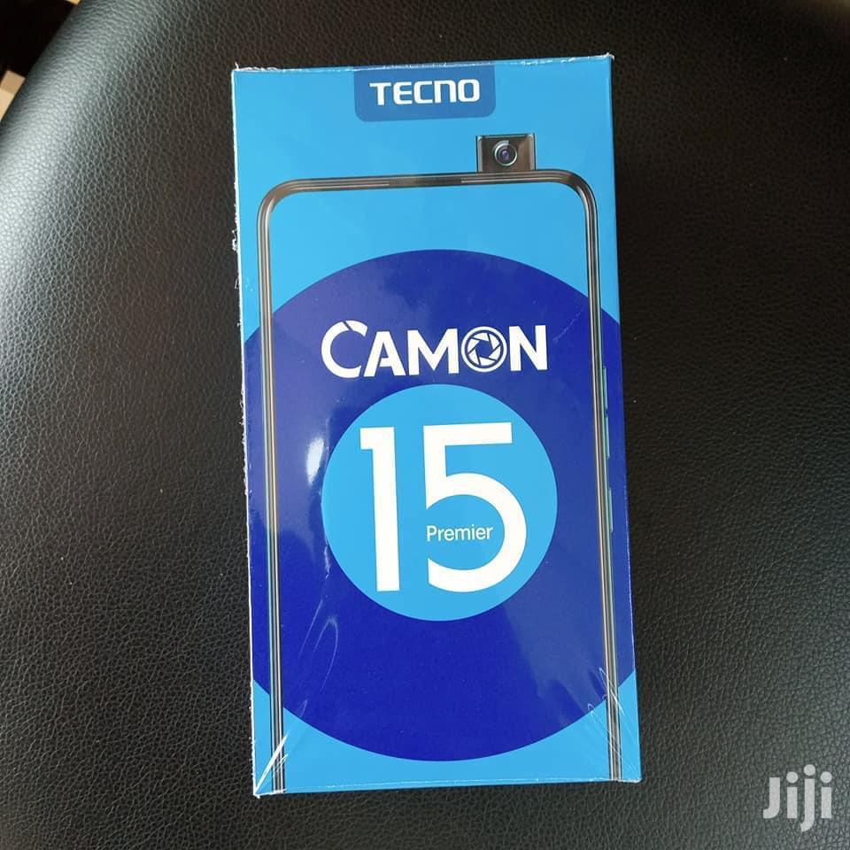 New Tecno Camon 15 Premier 128 GB Black | Mobile Phones for sale in Kampala, Central Region, Uganda