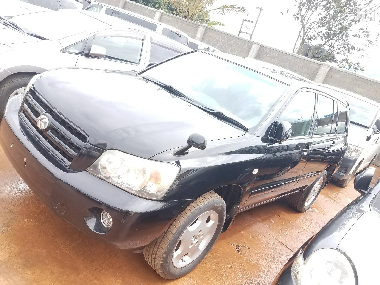 Toyota Kluger 2008 Black | Cars for sale in Kampala, Central Region, Uganda