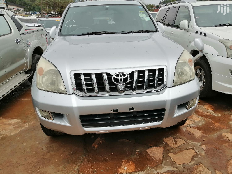 Toyota Land Cruiser Prado 2007 Silver