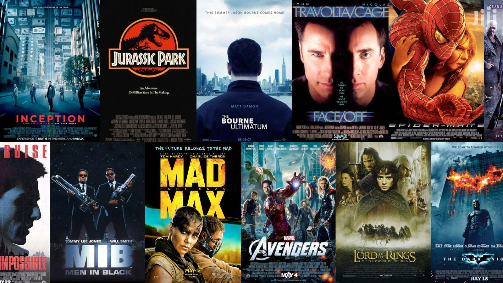 HD Movies, 4K & 3D Movies, Documentaries, Music Videos | CDs & DVDs for sale in Kampala, Central Region, Uganda