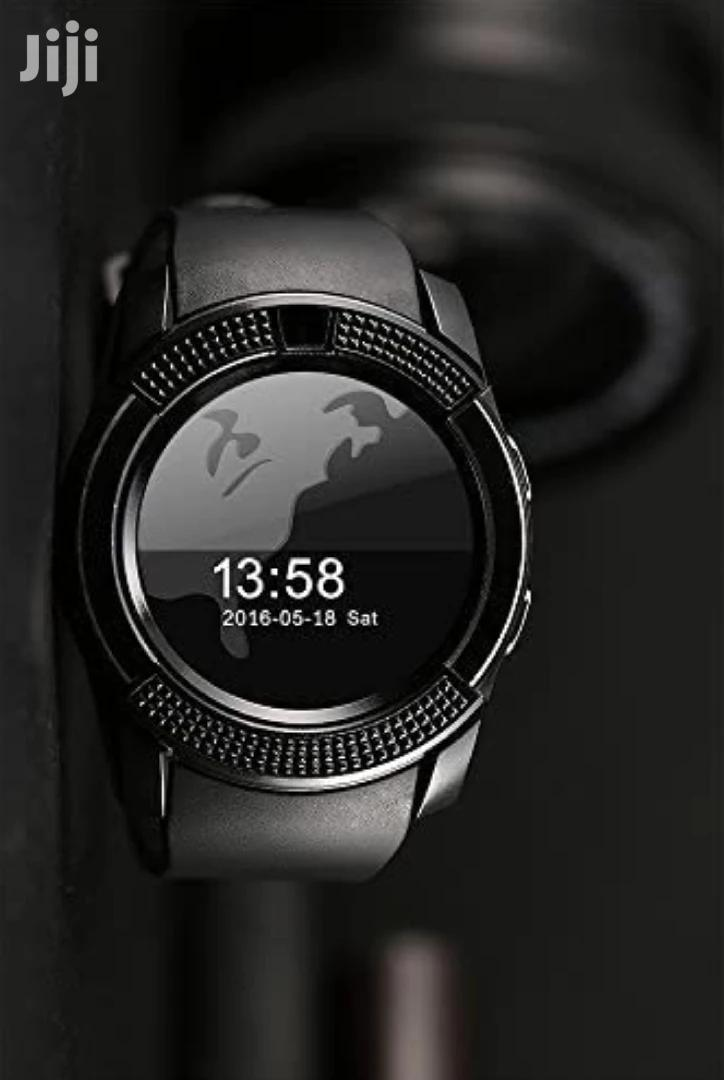 V3 Smart Watch With Camera And Sim Card Support
