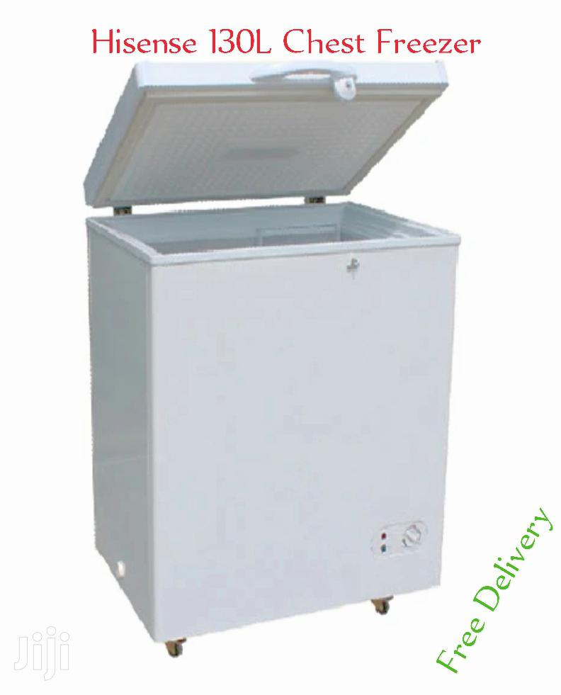Hisense 130L Portable Chest Freezer With Free Delivery | Kitchen Appliances for sale in Kampala, Central Region, Uganda
