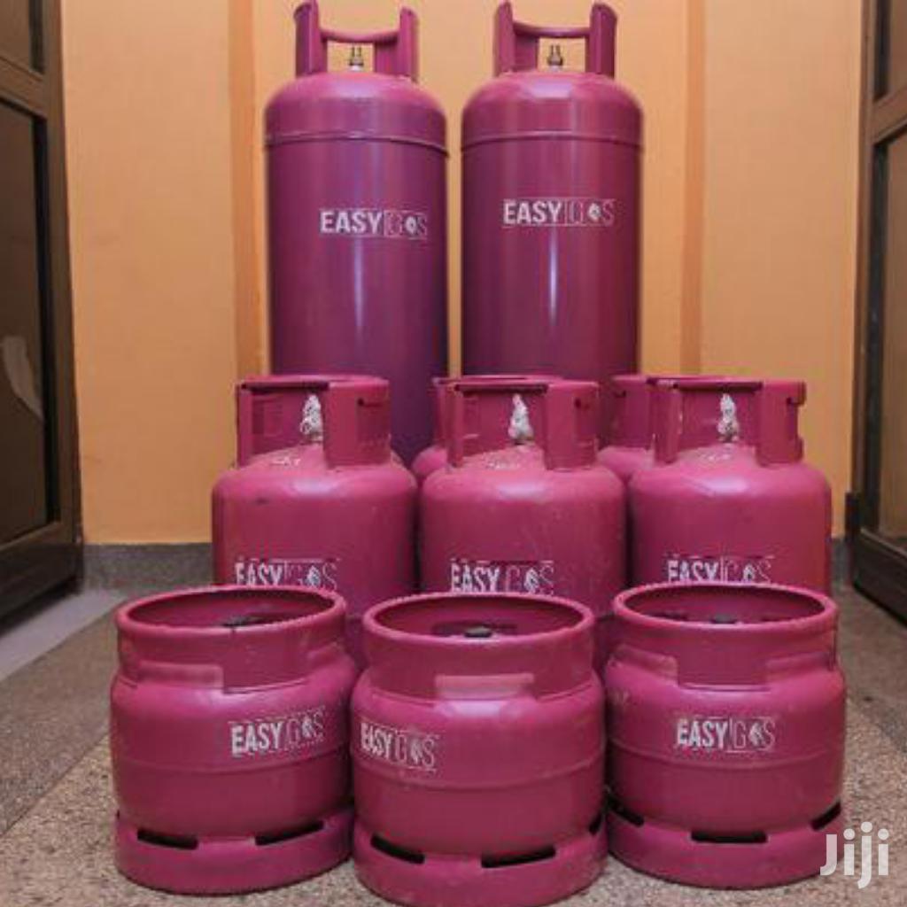 Easy Gas Full Set 6kg Gas, Grill, Regulator+ Burner | Kitchen Appliances for sale in Kampala, Central Region, Uganda