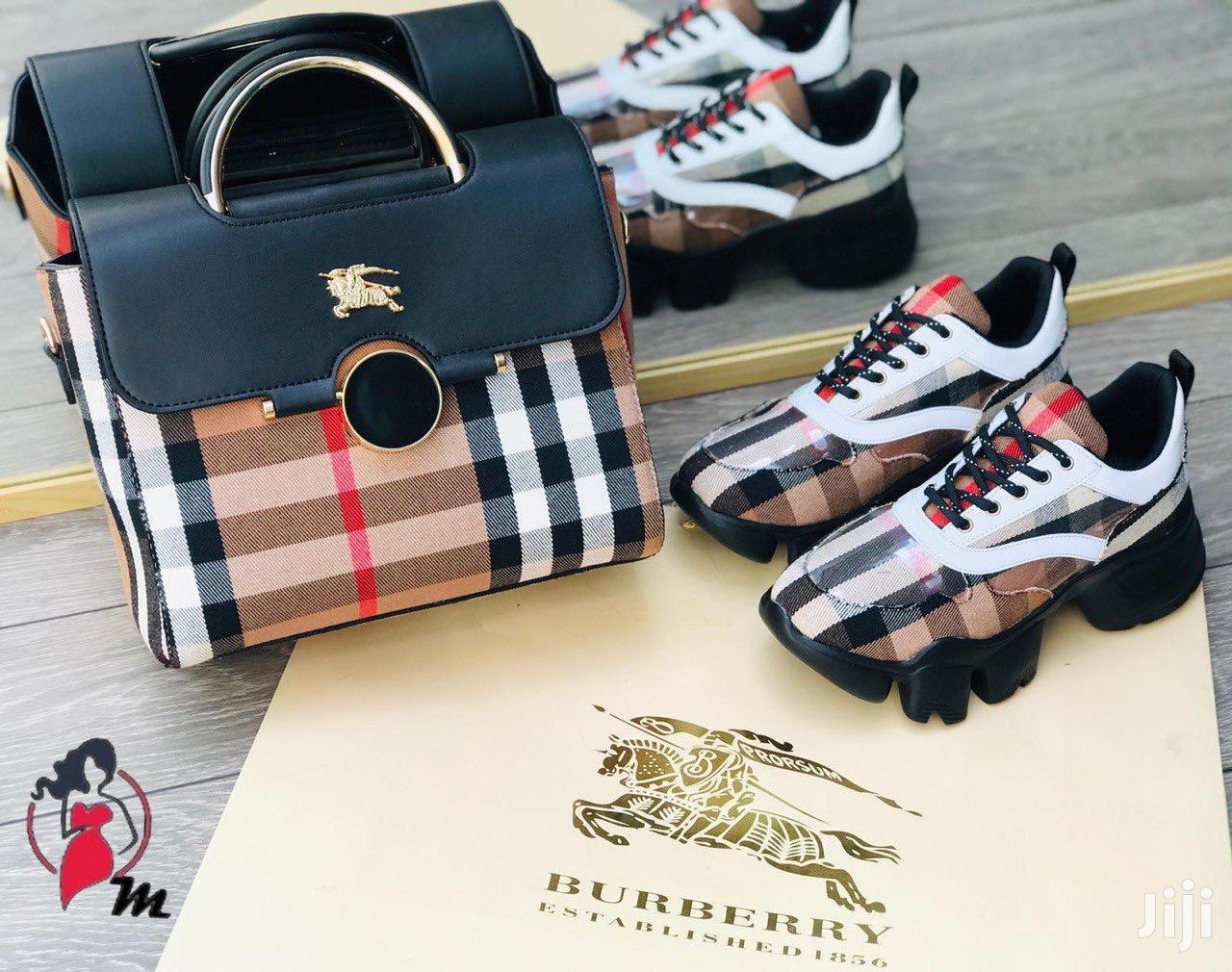 Women's Burberry Shoes and Bag