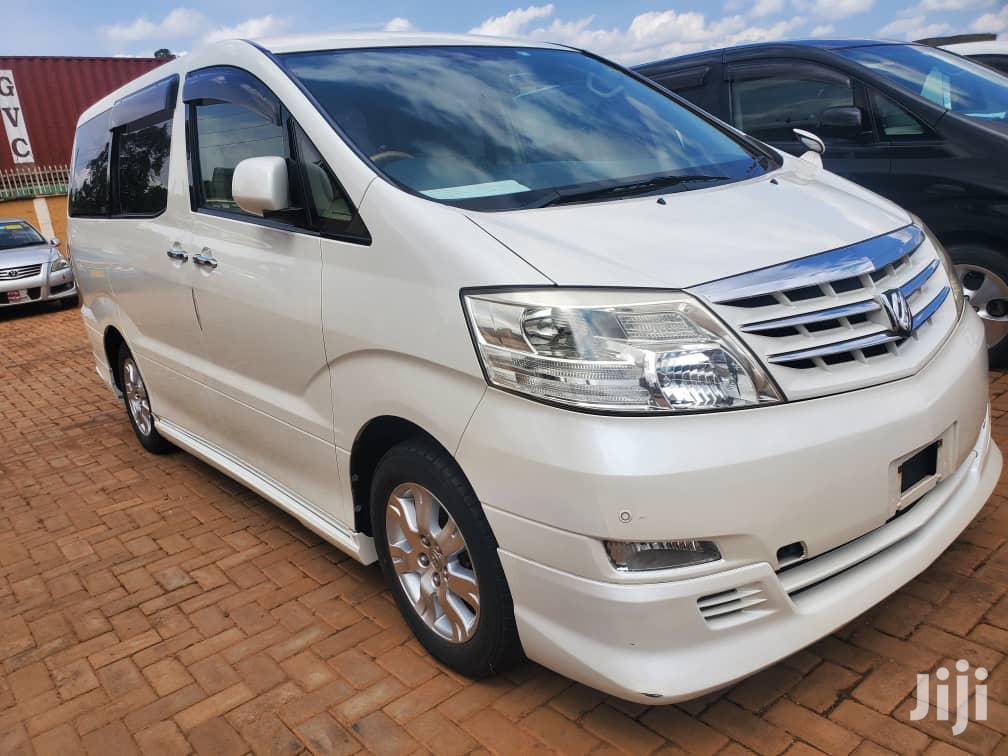 Toyota Alphard 2007 White | Cars for sale in Kampala, Central Region, Uganda