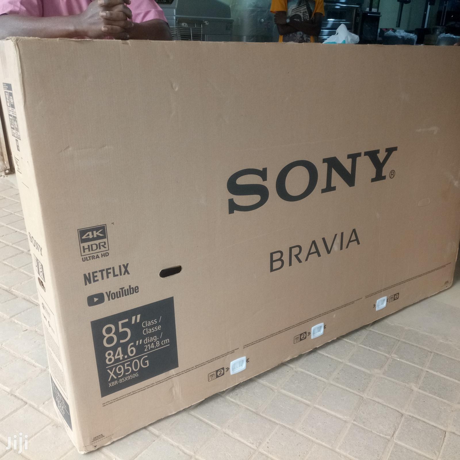 """SONY Bravia 85"""" Smart Uhd 4K TV"""