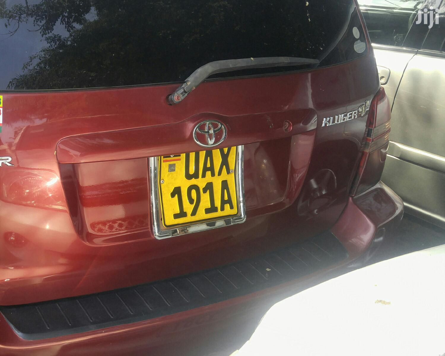 Toyota Kluger 2004 Red | Cars for sale in Kampala, Central Region, Uganda