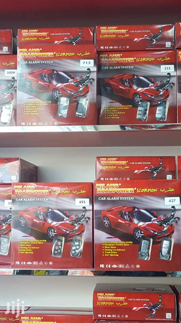 Genuine Scorpion Car Alarm System