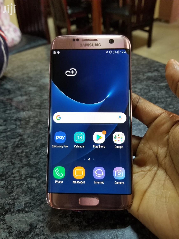 New Samsung Galaxy S7 edge 32 GB Gold   Mobile Phones for sale in Kampala, Central Region, Uganda