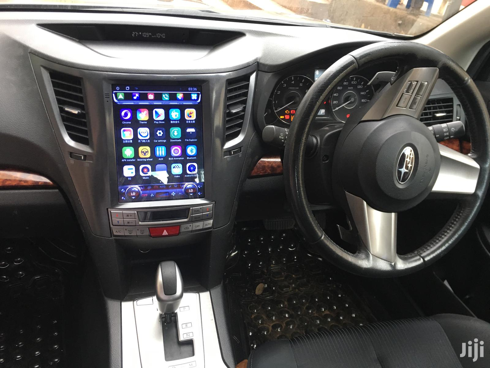 Subaru Legacy/Outback Tesla Style Android Radio | Vehicle Parts & Accessories for sale in Kampala, Central Region, Uganda