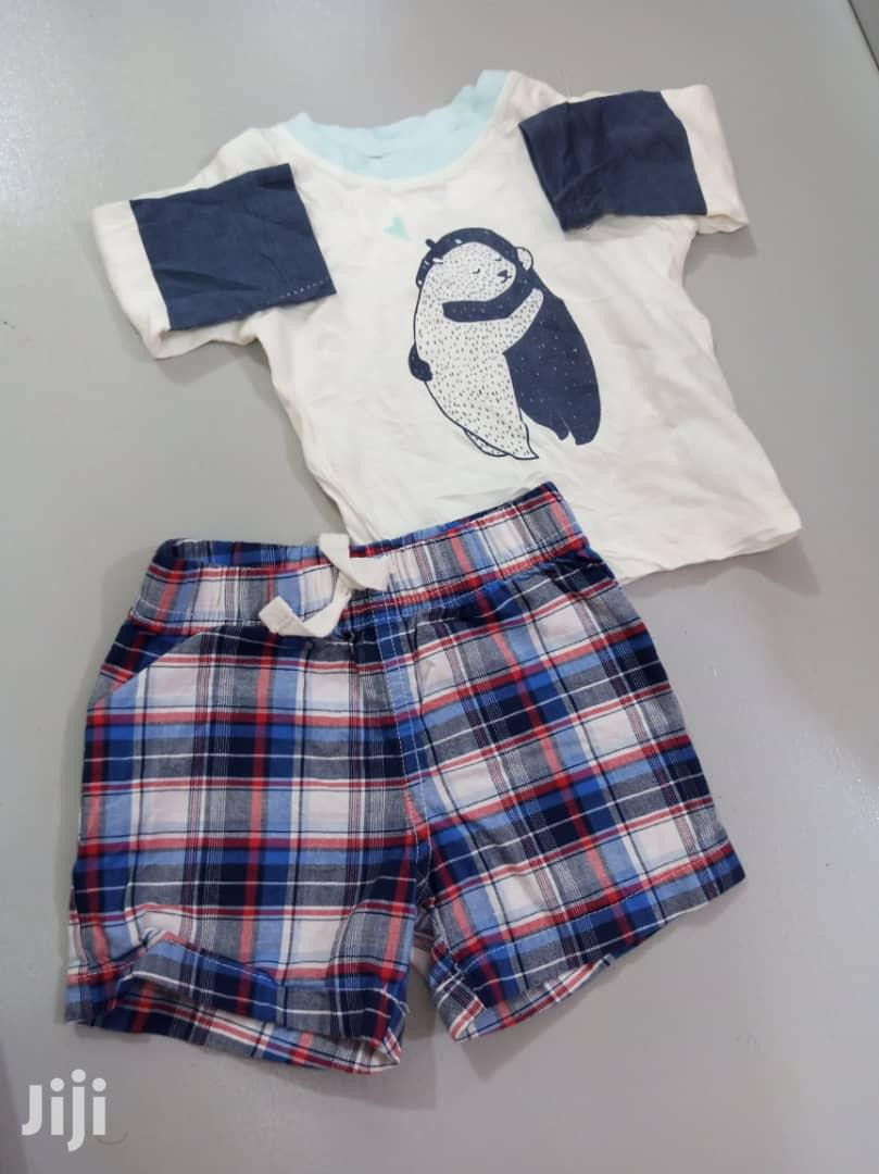 Kids Tshirt and Shorts Clothing Set | Children's Clothing for sale in Kampala, Central Region, Uganda
