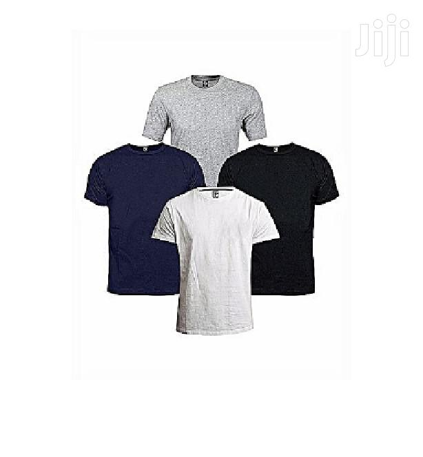 4 In 1 Pack Of Men's Cotton T-shirts Multi Color
