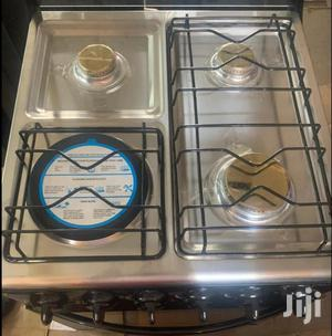 - 3 Gas + 1 Electric Oven ( Oven Uses Electricity )