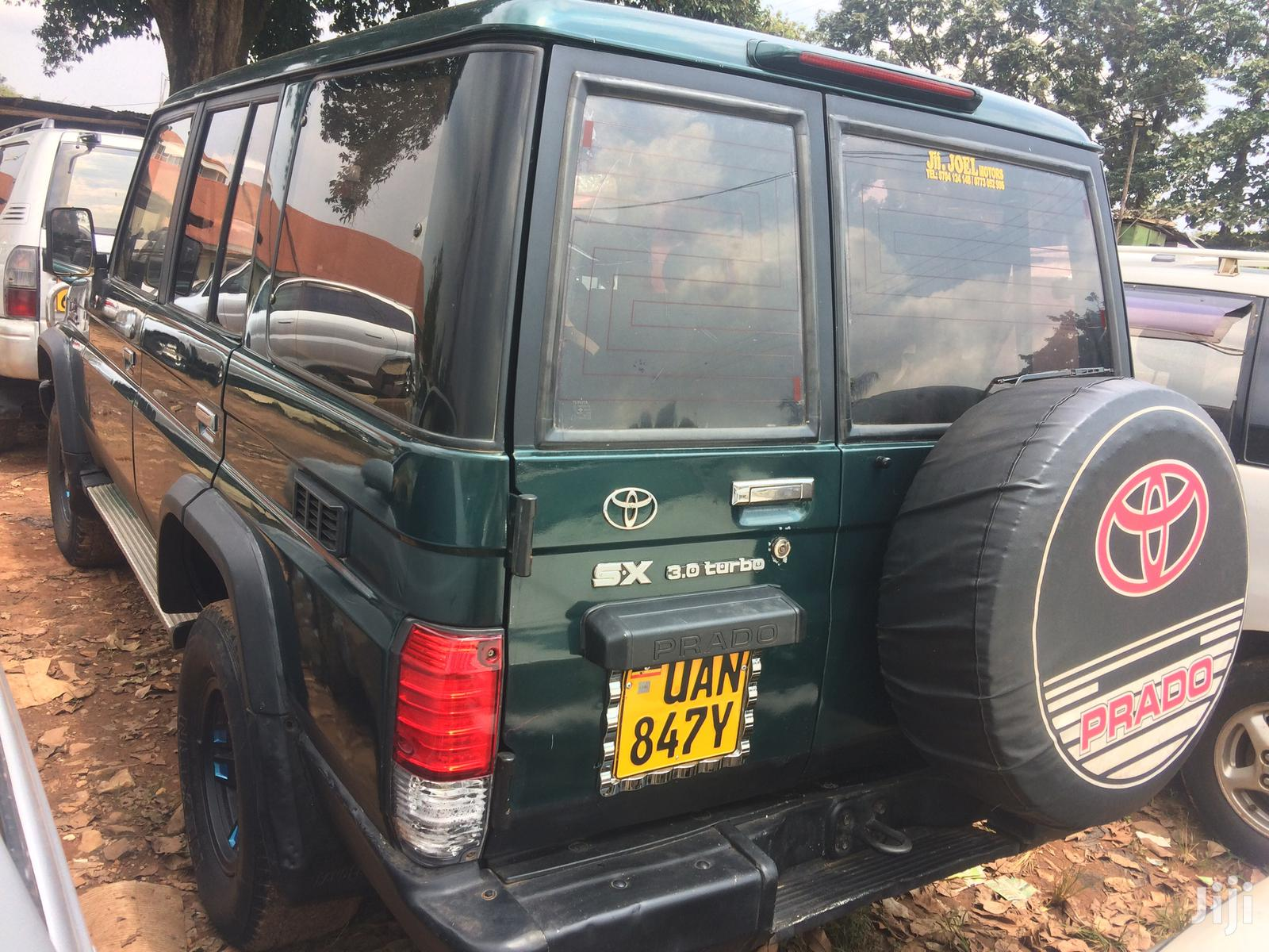 Toyota Land Cruiser Prado 1994 Green | Cars for sale in Kampala, Central Region, Uganda