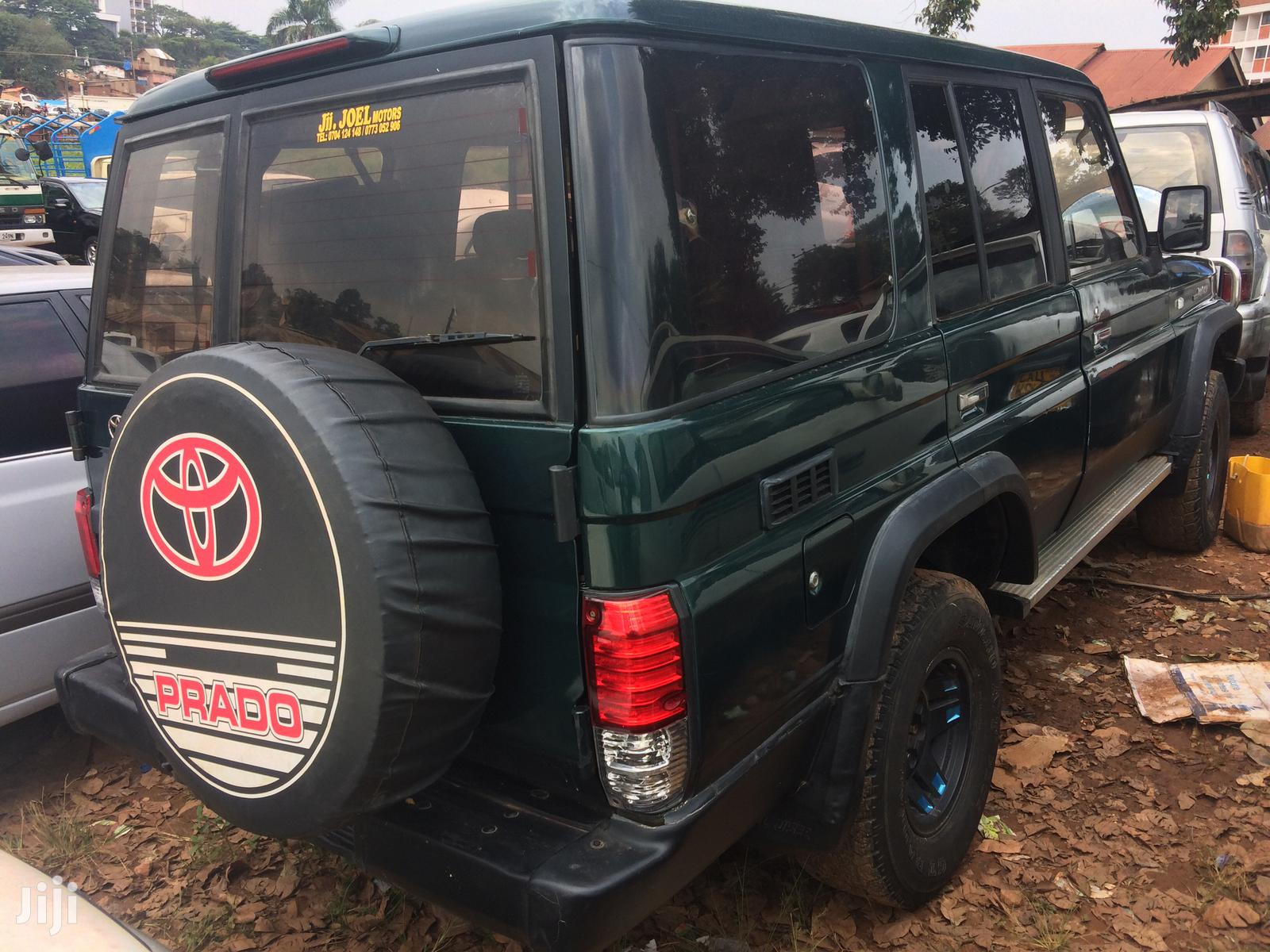 Toyota Land Cruiser Prado 1994 Green