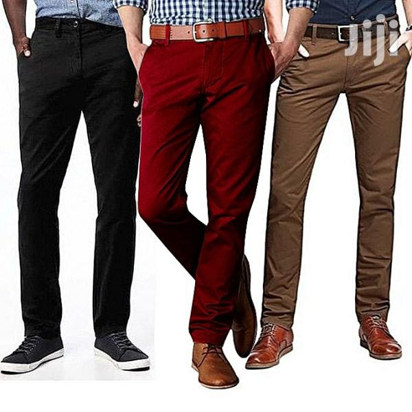 3 Pack of Men's Khaki Trousers(All Colors and Sizes) | Clothing for sale in Kampala, Central Region, Uganda