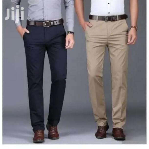 2 Pack of Men Khaki Trousers(All Sizes and Colors) | Clothing for sale in Kampala, Central Region, Uganda