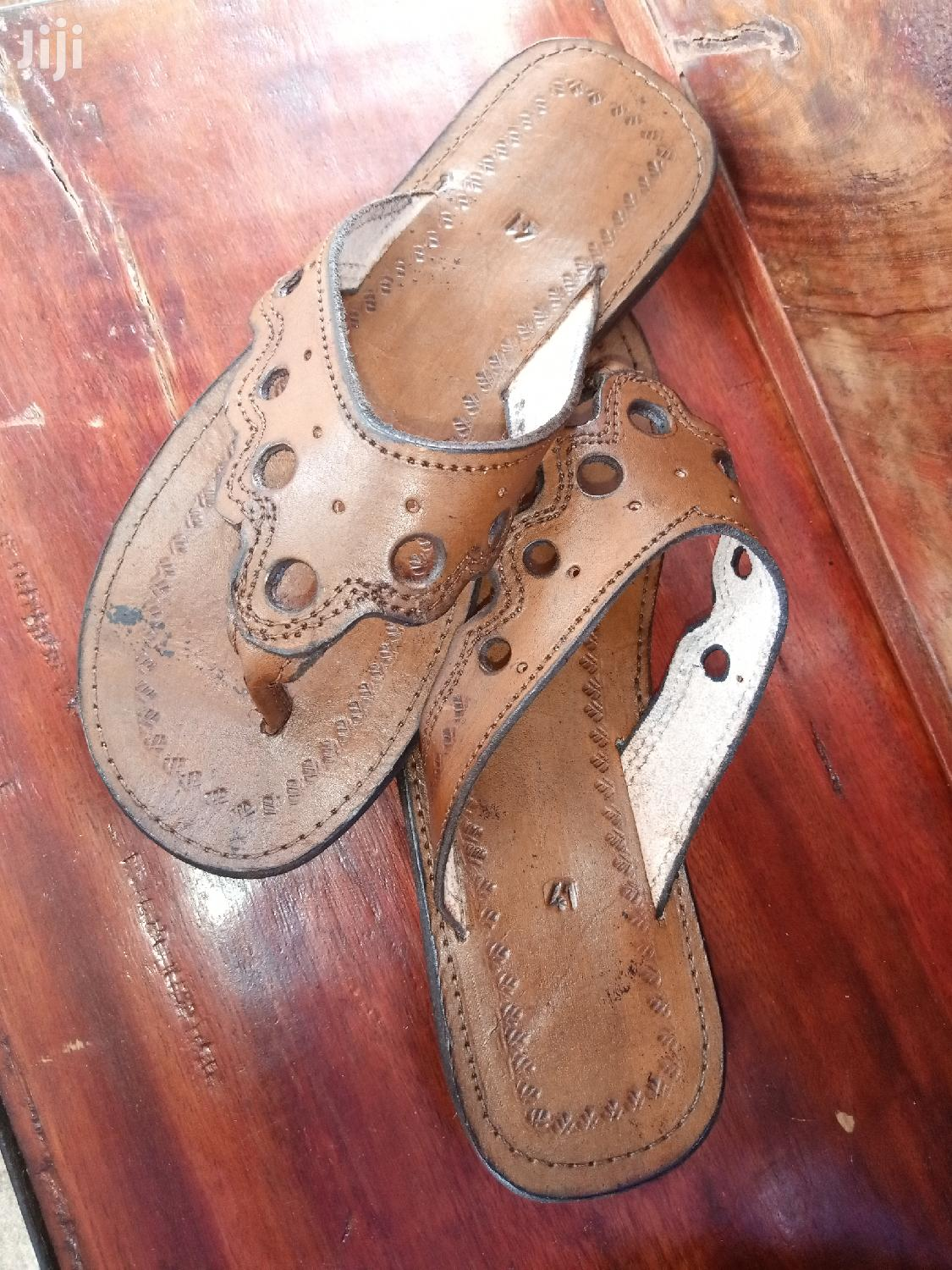 Pure Leather Craft Sandles | Shoes for sale in Kampala, Central Region, Uganda