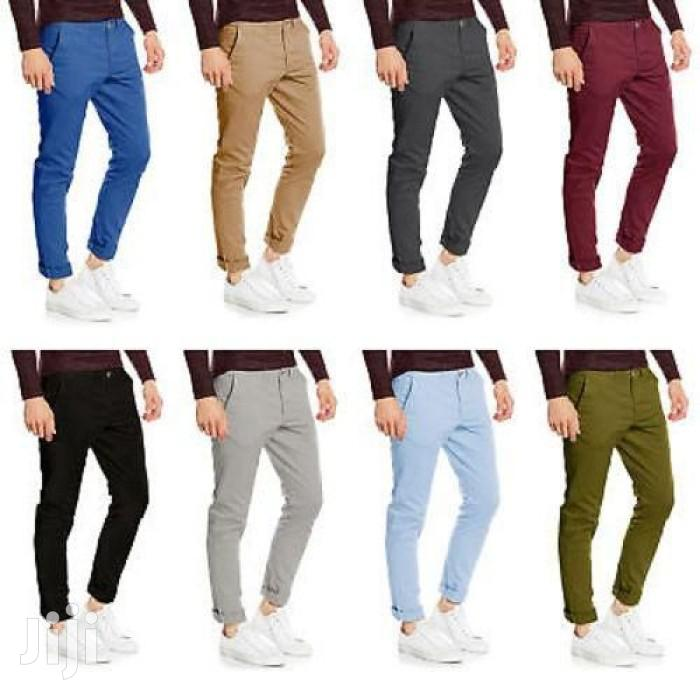 8 Pack Mens Khaki Trousers