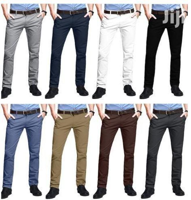 8 Pack Mens Khaki Trousers | Clothing for sale in Kampala, Central Region, Uganda