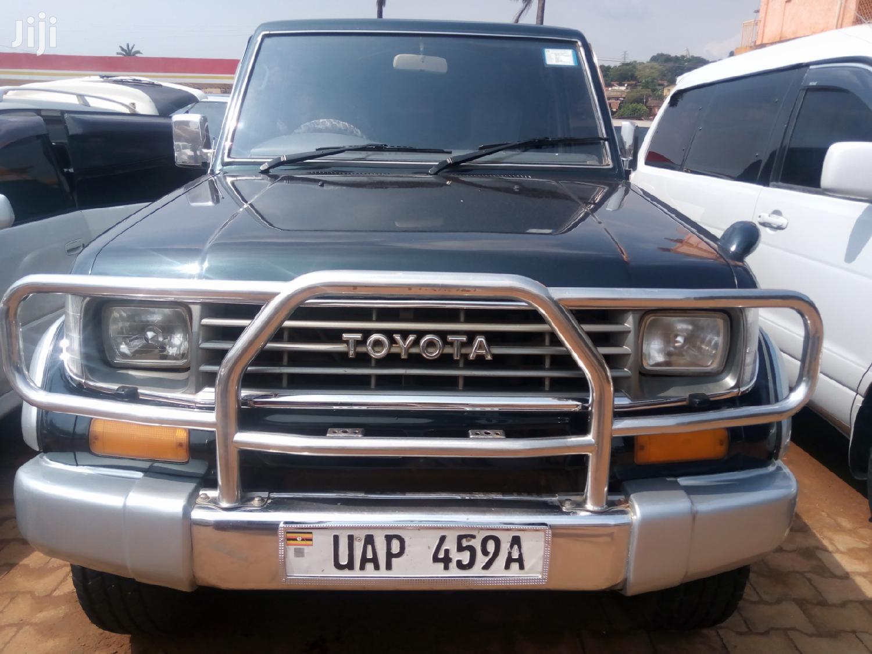 Toyota Land Cruiser Prado 1999 Blue