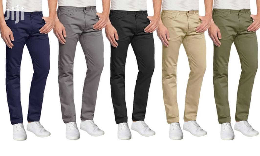 10 Pack of Men Khaki Trousers