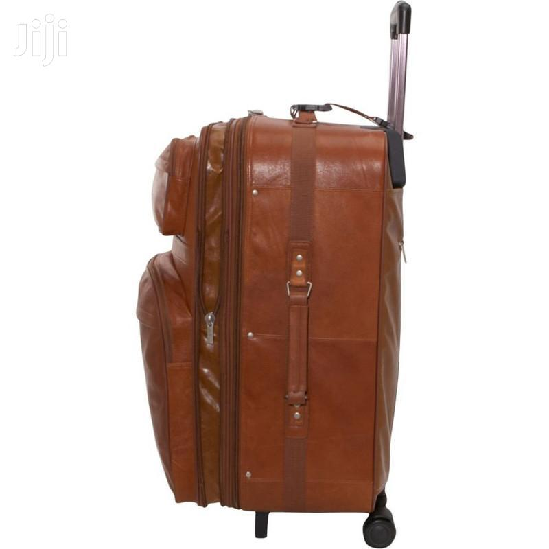 Big Pure Leather Suitcase   Bags for sale in Kampala, Central Region, Uganda